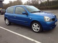 RENAULT CLIO 1.2- CAMBELT CLUTCH REPLACED, FULL SERVICE HISTORY