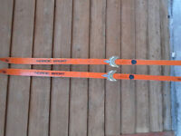 Classic 3-pin binding skis -  new price