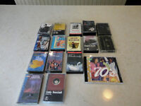 Collection of Cassette Tapes of assorted artists and One 70's CD