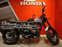 2018 TRIUMPH SCRAMBLER 58 miles from new!
