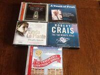 Audiobooks CDs (5)