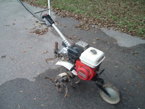 HONDA F501 Rototiller, WELL-Maintained, 1-Pull START, w. DISCS!!