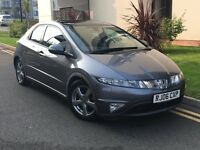 HONDA CIVIC 2.2 I-CDTI 140 5 DOOR PAN ROOF