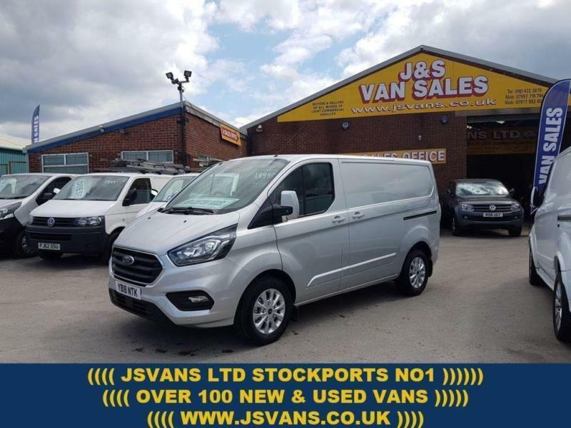 32c4e90b9a 2018 FORD TRANSIT CUSTOM LIMITED LASTEST NEW MODEL 130 BHP SWB 2018 18 REG  EX DE