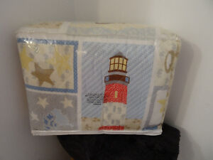 QUILT LIGHTHOUSE TWIN SIZE NEW