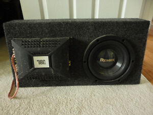 Sub Box & Woofer in Excellent Condition for sale