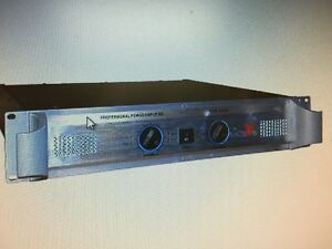 power amplifier PPA-3200 professional audio