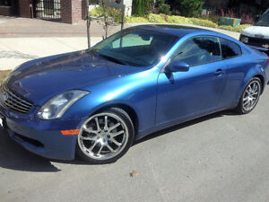 2005 G35 Coupe Manual