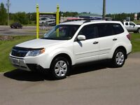 2009 SUBARU FORESTER***PEARL WHITE***UNDERCOATED***AWD