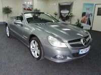 2008 MERCEDES SL SL500 + PANROOF + AIR SCARF + CONVERTIBLE PETROL