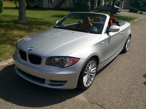 2011 BMW 128i Man. 6 vit. cabriolet impeccable