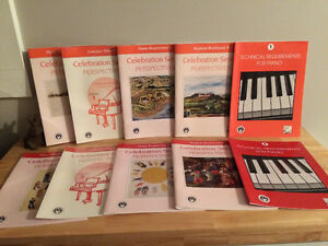Piano lesson books