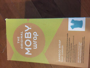 Moby Bamboo Wrap (Baby Carrier) (NEW)