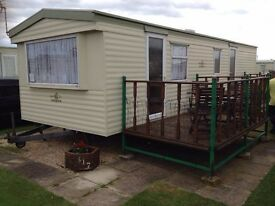 2 bed room caravan to let Ingoldmells