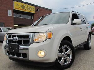2011 Ford Escape LIMITED,4WD,Leather,Sunroof,Chrome,Heated Seat