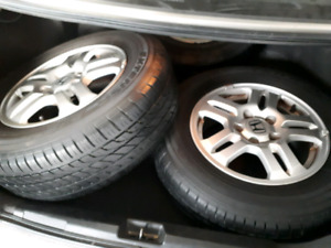 """15"""" mags with toyo summer like new"""