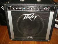 "Peavey MX tube amp with 12"" BLACK WIDOW"