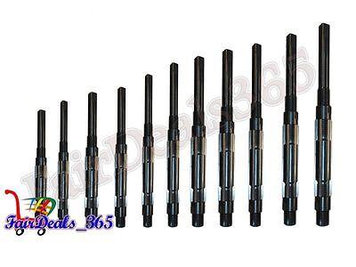 11 Pcs Set Adjustable Hand Reamer H4 To H141532-1.12 Free Express Ship Usa