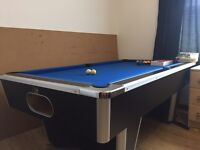 Full size pool table + accessories