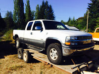 1999 Chevy 1500 part out