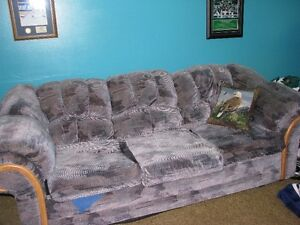 TWO RECLINERS AND CHESTERFIELD