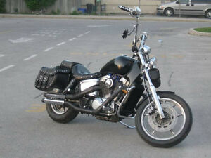 1988 HONDA VT1100 SHADOW FOR SALE AS IS OR TRADE