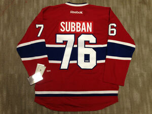 P.K. Subban Montreal Canadiens Jersey Size S and M