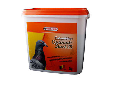 Versele Laga Colombine Optimal Start 25Egg Food  5kg Pigeon Food-Feed-Corn