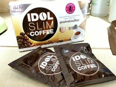 6X IDOL SLIM COFFEE Diet Coffee The formula for resistance Low Fat 100%burn fat
