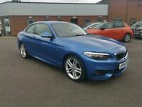 2014 BMW 2 Series M Sport 2.0 (180ps) with Rear Parking Sensors Coupe Diesel Man