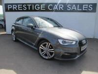 2014 Audi A3 1.4 TFSI S line 3dr Petrol grey Manual
