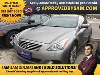 "G37 - TEXT ""AUTO LOAN"" TO 519 567 3020 GUARANTEED CREDIT"