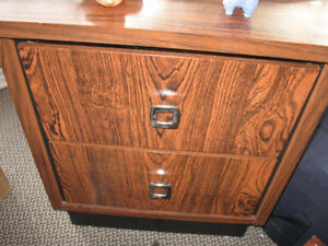 Three bedside tables