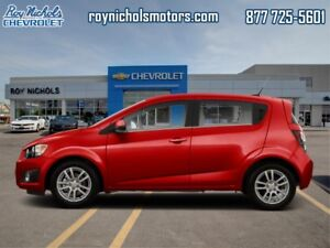 2012 Chevrolet Sonic LT  - Certified - Bluetooth -  Cruise Contr