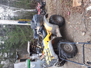 98 450 foreman es trade for 4x4 truck . Jeep