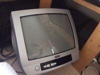 "BLACK DIAMOND 13"" PORTABLE TV - £5"