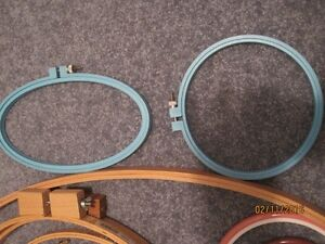 Craft Hoops and frames, EZ quilting clamps Windsor Region Ontario image 3