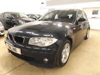 BMW 1 SERIES 116I SPORT, Black, Manual, Petrol, 2006