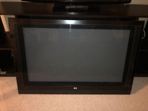 "HP 42"" Plasma TV - includes wall mount and Universal Remote!"