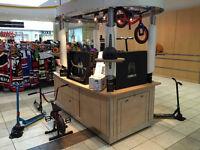 Scooter Kiosk at Sunridge Mall
