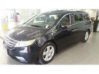 2013 Honda Odyssey Touring at dealer service