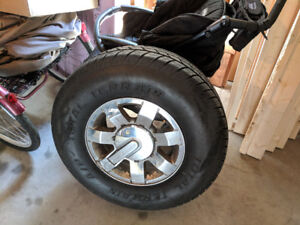 Selling my used tires (265/75/R16 LT) [Cheap, in good condition]
