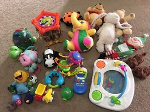 Free toys and stuffed animals for baby and toddler