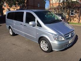 2011 Mercedes-Benz Vito 2.1 111CDI Traveliner Extra Long Bus 5dr (9 Seats)