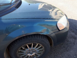 2006 Chrysler Sebring needs front end work. OBO