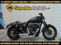 2014 14 HARLEY-DAVIDSON SPORTSTER XL883 IRON 0% DEPOSIT FINANCE AVAILABLE