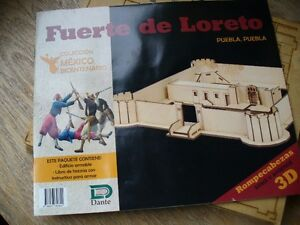 Maquette de Fort Loreto (Mexique)