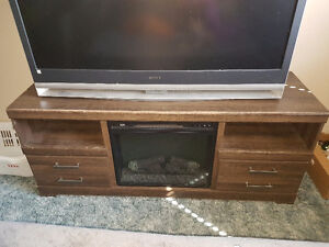 Tv stand/fire place