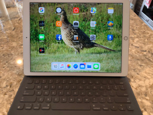 "iPad Pro 12.9"" package with Apple Pencil and Keyboard/cover"