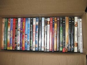 HUGE Box of DVD's 30 or more discs Harry Potter Accepted Lot